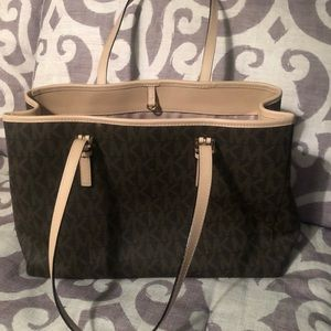Brown Michael Kors Tote